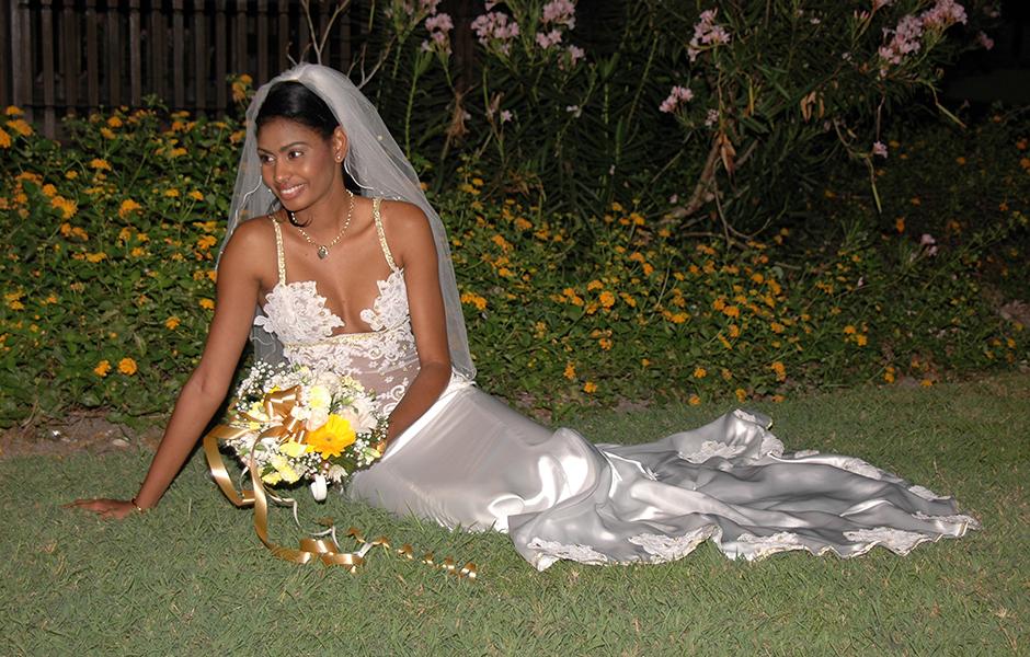 Custom Designed Bridal Attire