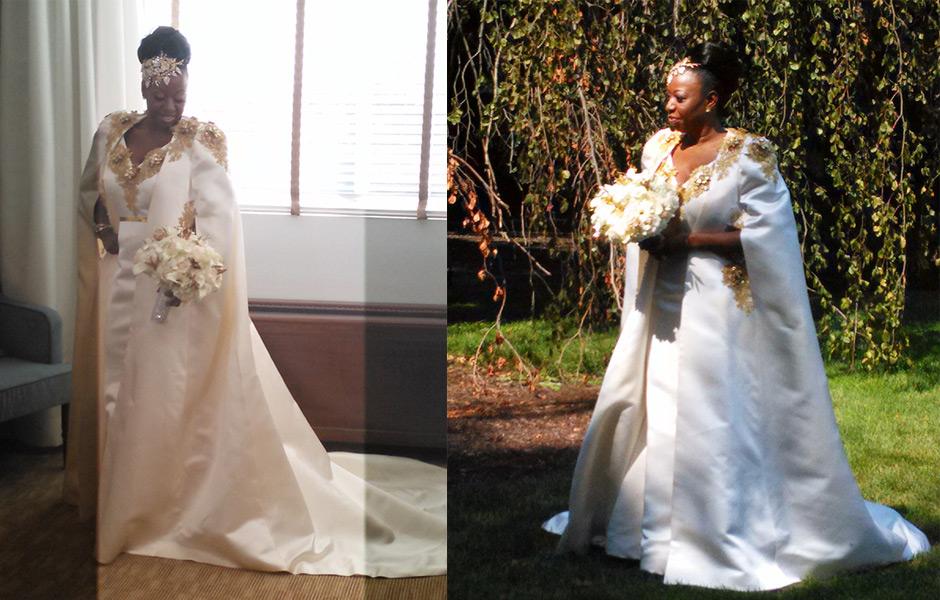 Janice's Wedding Gown