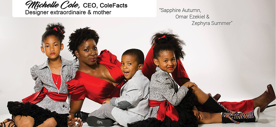Michelle Cole and Family