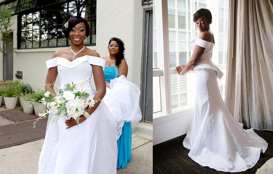 Custom Designed Bridal Attire. Soraya's Wedding Gown